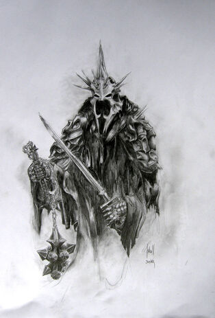 The Witch King Of Angmar by DuneWR