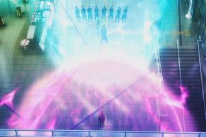 SCEPTER4 and Homura clash