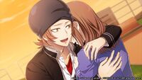 Yata hugs saya