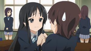 Mio and Nodoka