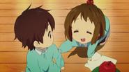 Nodoka and yui make first contact