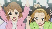 Yui and Ritsu