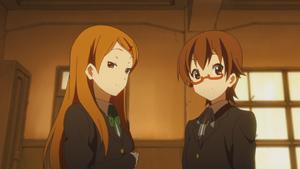 Nodoka and Megumi