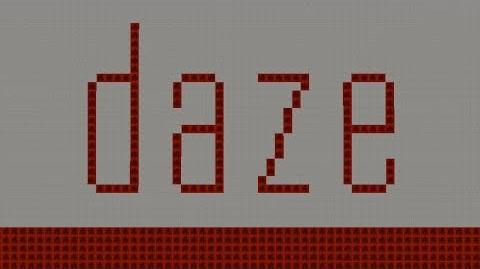 【Minecraft】音ブロックで「daze」