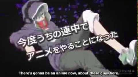 """Mekakucity Actors"" Anime CM 03"