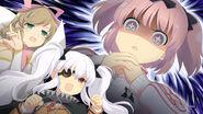 Estival Versus- Hibari Haruka and Yagyu