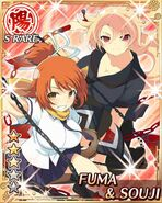 Fuma and Souji2