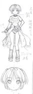 Hibari Concept Art (Prototype) 3
