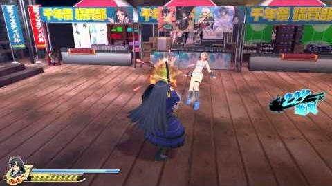 PS4 60FPS『閃乱カグラ ESTIVAL VERSUS -少女達の選択-』Ryoki gameplay(All Ninpos)