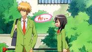 Misaki upset with Takumi usui