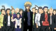 Gouki and his gang