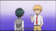 Yukimura when he is hypnotised