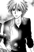 Takumi tries to calm Misaki down