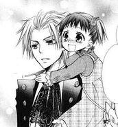 Ruri and her prince, takumi