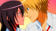 Usui and a drunk Misaki
