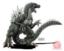 Godzilla neo godzilla by kaijusamurai