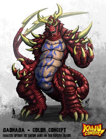 File:Kaiju combat gaonaga by kaijusamurai-d5u29ig.jpg