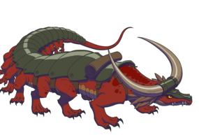 Badlands Lizard