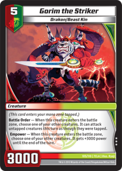 Gorim the Striker (7CLA)