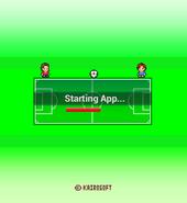 Pocket League Story - Starting Screen