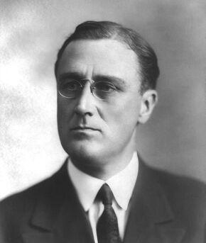 Roosevelt in 1920