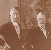 Wilhelm with father
