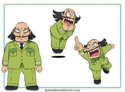 Dogusaburō Oniyama Character Design