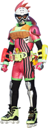 EX-Aid burger gamer level 4