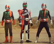 Decade and Double Riders