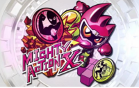 Mighty Action Label