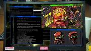 Ju Ju Burger code screen