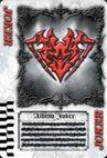 Albino Joker Card