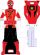 Hyper shinken red ranger key by signaturefox2013-d8g1ugg