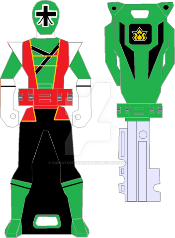 File:Hyper shinken green ranger key by signaturefox2013-d8g1vr9.png
