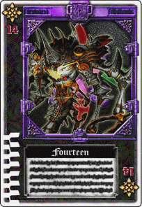 Jashin 14 Card