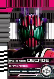 Kamen Ride Decade (Violent Emotion Card)