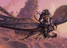 Mothrider-samurai