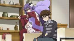 Haqua and Keima discuss