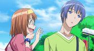 Akane seeing Natsuru zoned out