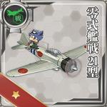 Máy bay tiêm kích Kiểu 0 Mẫu 21