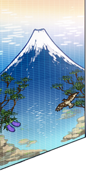 Mt.Fuji tile painting
