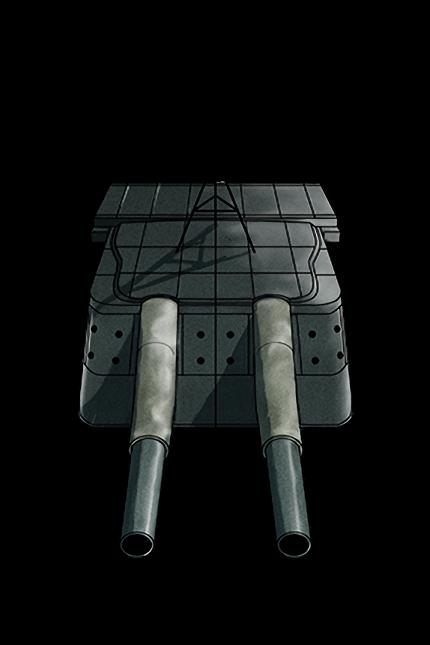 20.3cm (No.3) Twin Gun Mount 050 Equipment