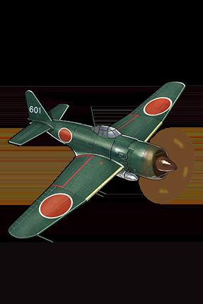 Reppuu (601 Air Group) 110 Equipment