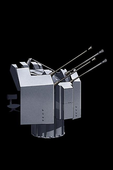 2cm Flakvierling 38 084 Equipment