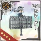 FuMO25 Radar 124 Card
