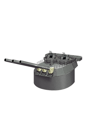 Prototype 35.6cm Triple Gun Mount 103 Equipment