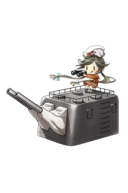 14cm Twin Gun Mount 119 Full