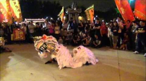 01.22.12 - 麒麟 QiLin Dance (Unicorn Dance) CNY 2012