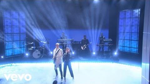 Machine Gun Kelly, Camila Cabello - Bad Things (Live On The Ellen DeGeneres Show 2017)