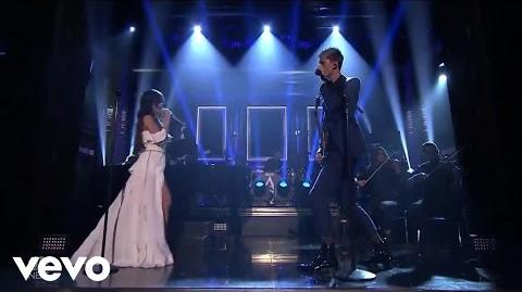 Machine Gun Kelly, Camila Cabello - Bad Things (Live On The Tonight Show Starring Jimmy Fallon)